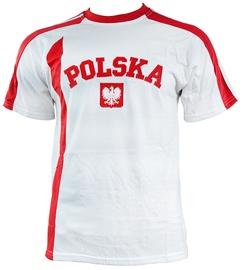 Футболка Marba Sport Poland Replica Cotton T-shirt White XXL