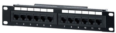 Equip CAT5e Patch Panel 12-Port 208015