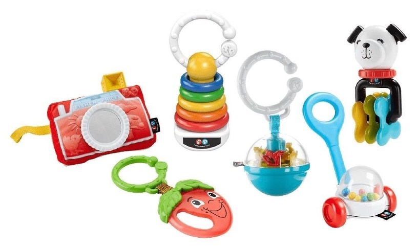 Fisher Price Tiny Take Alongs Gift Set FBH63