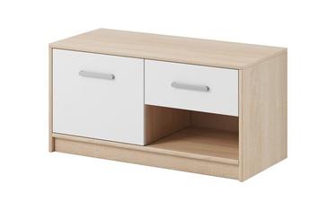 WIPMEB Tulia Shoe Cabinet Sonoma Oak/White