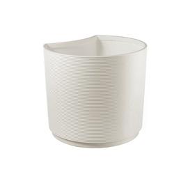 Вазон Teraplast URBAN SMALL D46 H40, белый