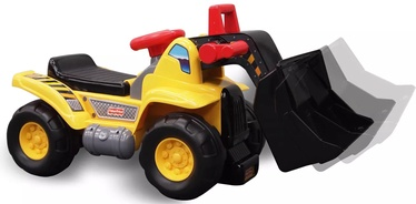 Bērnu rotaļu mašīnīte Fisher Price Ride-On Excavator, melna/dzeltena