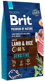 Brit Premium by Nature Sensitive Lamb & Rice 15kg