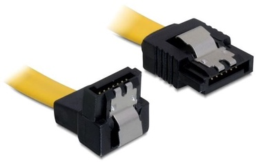 Delock Cable SATA / SATA Yellow 0.5m