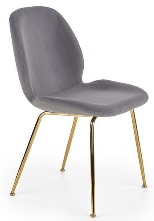 Стул для столовой Halmar K381 Grey/Gold, 1 шт.