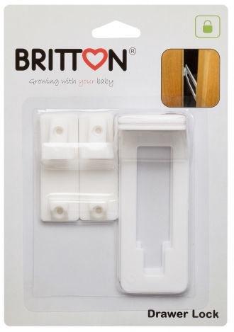 Britton Cabinet Drawer Lock 2pcs B1807