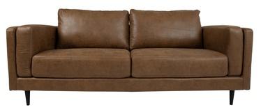 Dīvāns Home4you Lisbon 28536, brūna, 92 x 210 x 89 cm