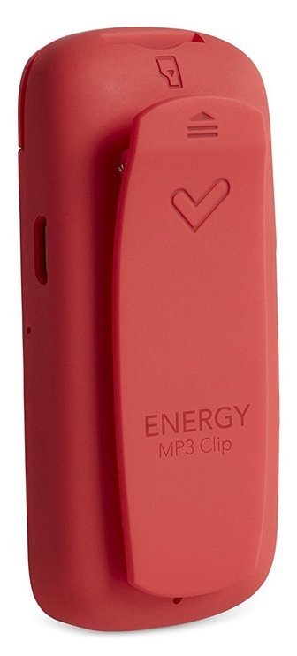 Muusikamängija Energy Sistem 426485, punane/roosa, 8 GB