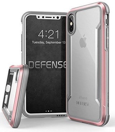 X-Doria Defense Shield Back Case For Apple iPhone X/XS Rose Gold