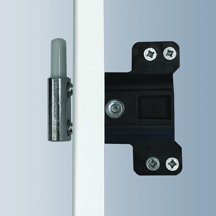 Полотно межкомнатной двери Classen Doors Greco M7 Oak Grey Left 844x2035mm