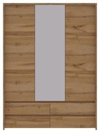Spinta WIPMEB Tahoe TA-22 Wotan Oak, 153.5x56x210 cm, su veidrodžiu