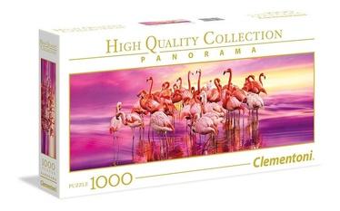 Clementoni Panorama High Quality Puzzle Flamingo Dance 1000pcs 39427