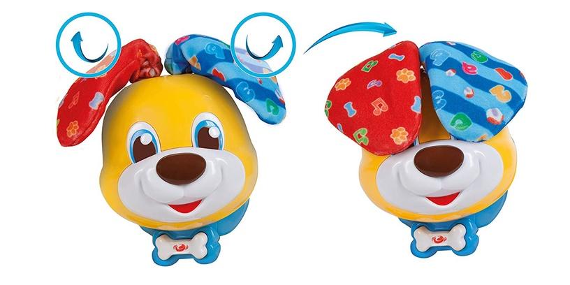 Žaislinis interaktyvus šuo Clementoni Bubu 50549, 10 mėn.