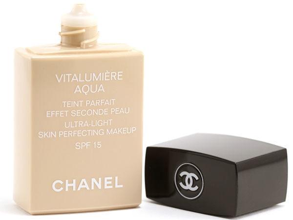 Chanel Vitalumiere Aqua Fluid Ultra-Light Makeup SPF15 30ml 50
