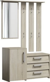 Top E Shop Paris Hall Unit Set Sonoma Oak