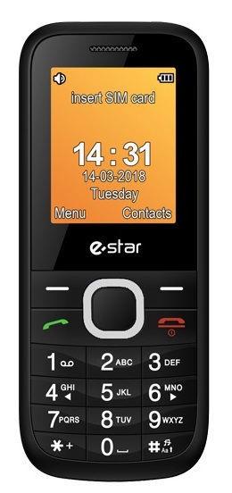 Mobilusis telefonas eSTAR X18 Dual Silver