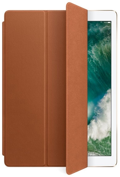 Apple Leather Smart Cover For 12.9'' iPad Pro Saddle Brown