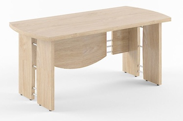 Skyland Born V 102 Executive Desk 170x80cm Devon Oak