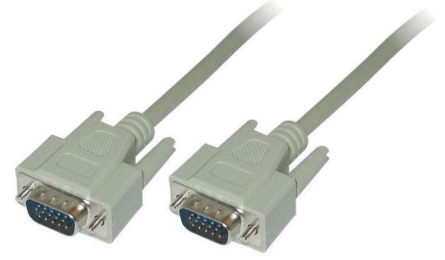 Провод LogiLink Cable VGA / VGA Grey 10m