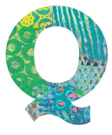 Djeco Peacock Q Letter