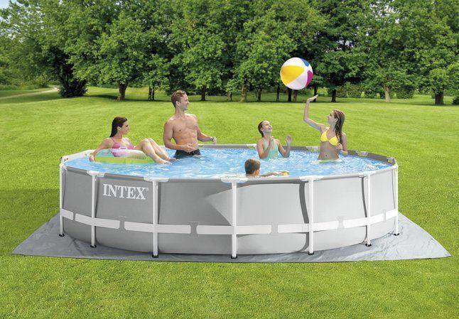 Intex Frame Pool Set Prism Rondo 457cm 126724GN