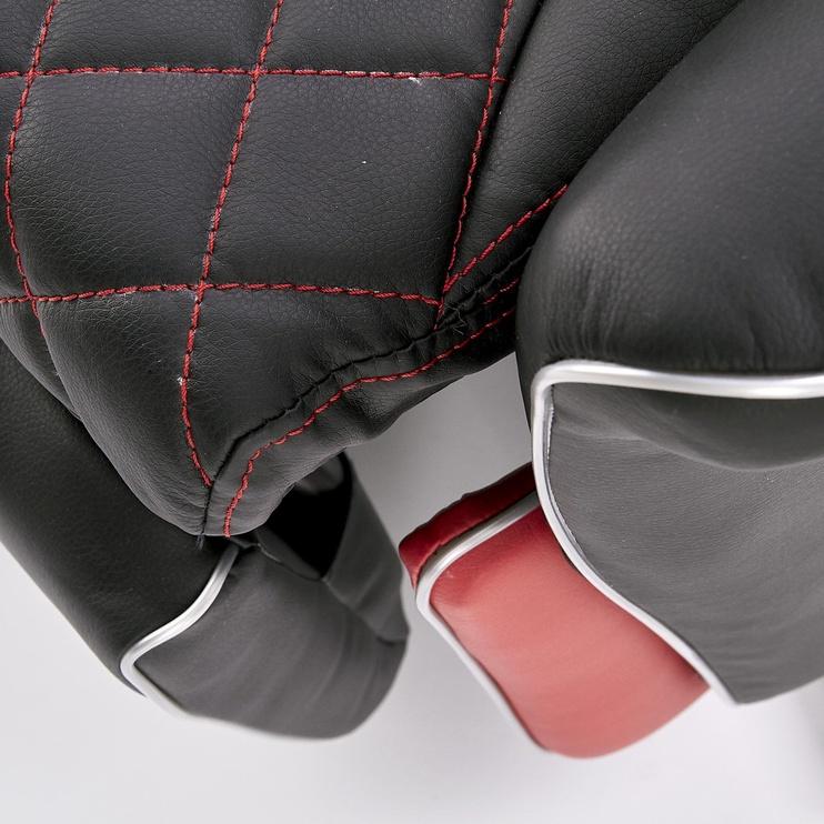 Fotelis Halmar Camaro Black/Red, 77x72x112 cm