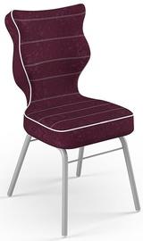 Детский стул Entelo Solo Size 4 VS07 Grey/Purple, 370x340x775 мм