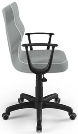 Детский стул Entelo Norm Size 6 JS03, черный/серый, 400 мм x 1045 мм
