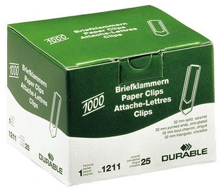Durable Paper Clips 1000pcs 32mm
