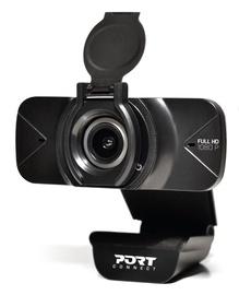 Интернет-камера Port Designs, черный, 1080p
