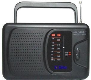 Kaasaskantav raadio Eltra ANIA 3 Model 9608 Black