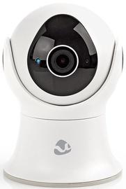 Nedis WIFICO20GWT Wi-Fi Smart IP Camera Pan/Tilt Full HD 1080p Outdoor UK Plug