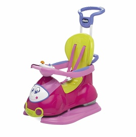 Chicco Quattro 4 In 1 Sit N Ride Car Pink 607031