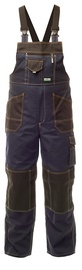 Baltic Canvas CAN-0122 Bib-Trousers Blue 48