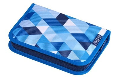 Herlitz Pencil Case 31 Pieces Blue Cubes