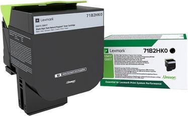 Lexmark 6K Black Return Program Toner Cartridge 71B2HK0