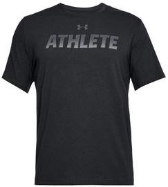 Under Armour T-Shirt Athlete 1305661-001 Black L