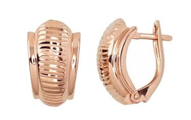 Diamond Sky Gold Earrings Classic III