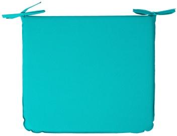 Krēslu spilvens Home4you, zila, 38x43 cm