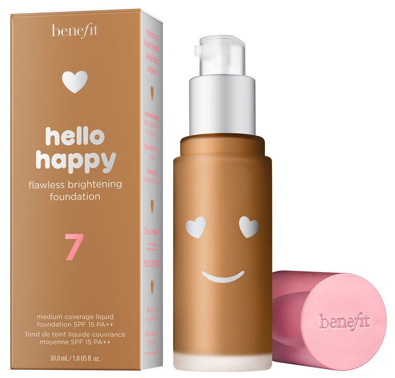 Benefit Hello Happy Flawless Brightening Foundation SPF15 30ml 07