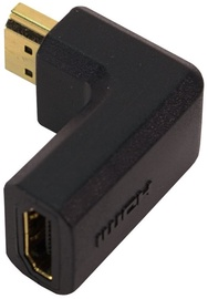 LogiLink Adapter Angled 90 HDMI to HDMI