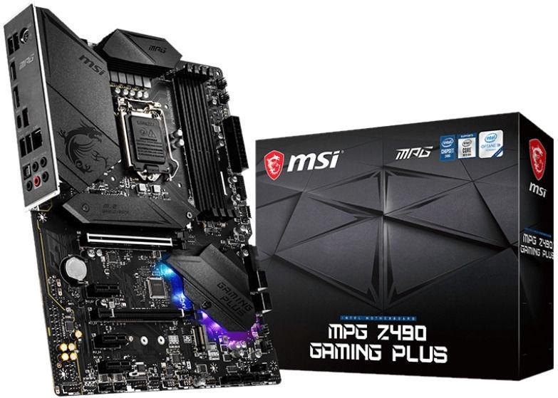Mātesplate MSI MPG Z490 GAMING PLUS
