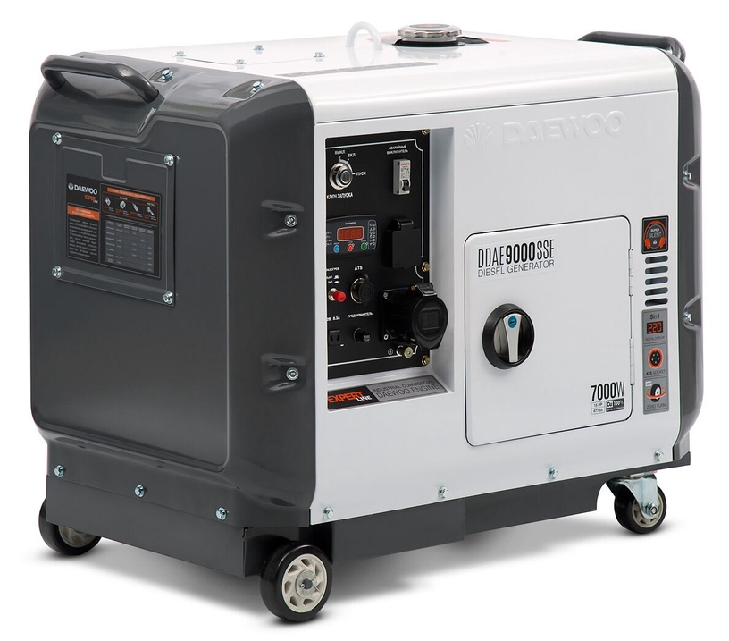 Генератор Daewoo DDAE 9000SSE, 6000 Вт