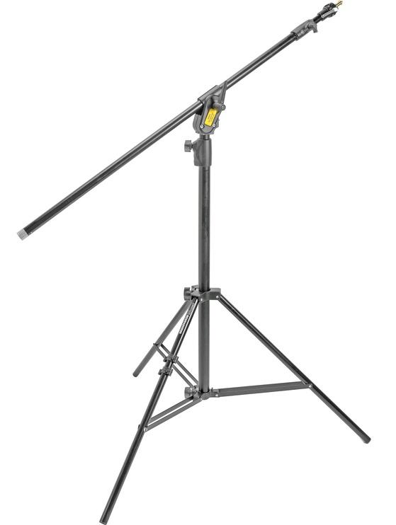 Manfrotto Combi-Boom Stand Aluminium Black