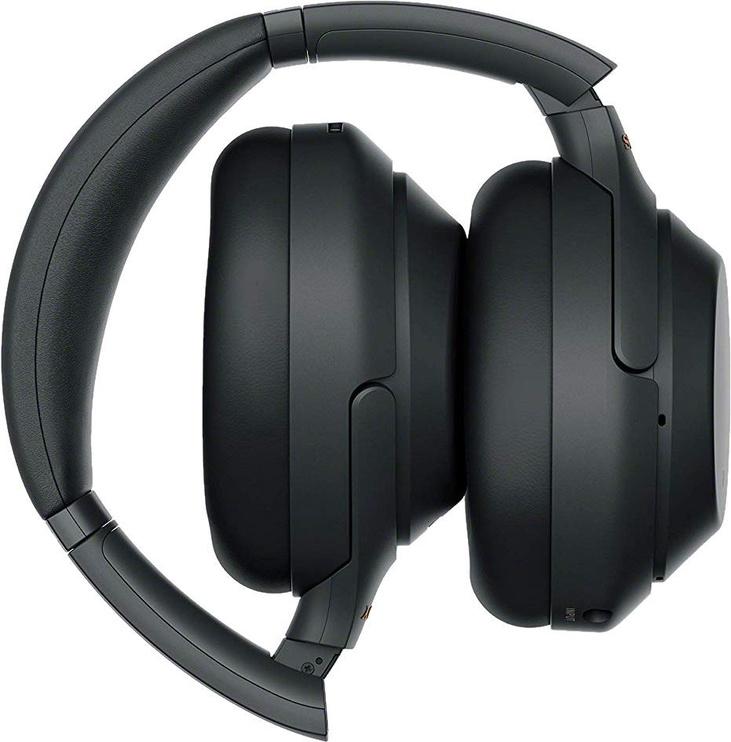 Ausinės Sony WH-1000XM3 Black, belaidės