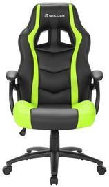 Žaidimų kėdė Sharkoon Skiller SGS1 Black/Green