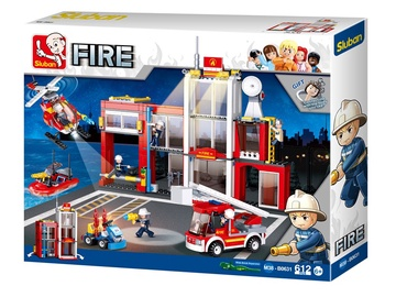 Sluban Fire Station M38-B631