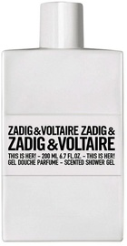 Zadig & Voltaire This Is Her! Shower Gel 200ml