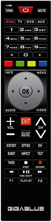 GigaBlue UHD UE 4K DVB-S2 FBC/DVB-S2X
