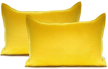 AmeliaHome Carmen Pillowcase Honey Yellow 50x70 2pcs
